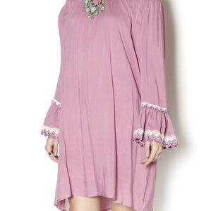 Entro 3/4 sleeve Peasant Dress